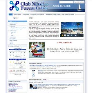 web club nautico Puerto Colón