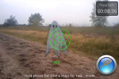 Jugar a encontrar fantasmas con realidad aumentada