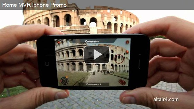Roma en Realidad Aumentada