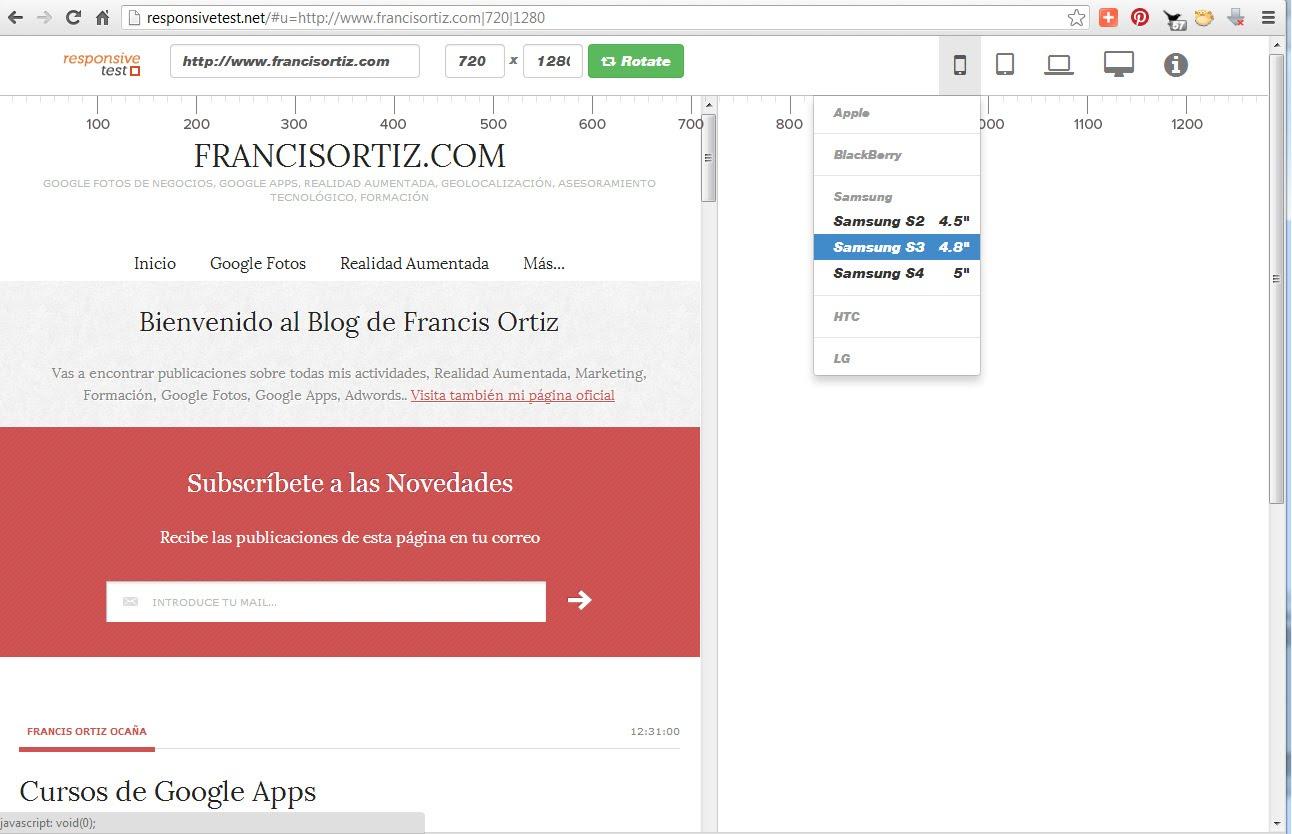 Responsive Design Francis Ortiz