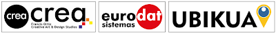 Crea - Eurodat Sistemas - Ubikua - Logos