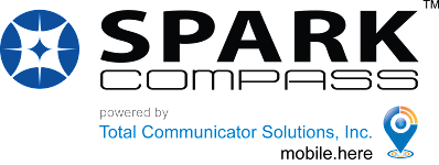 Spark compass Total Communicator Solutions Logo