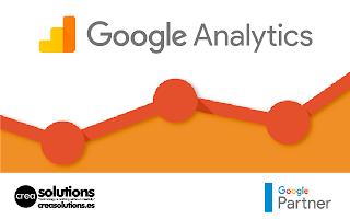 Implantación de Google Analytics Servicios de Crea Solutions Canarias