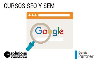 Cursos de SEO y SEM Servicios de Crea Solutions Canarias