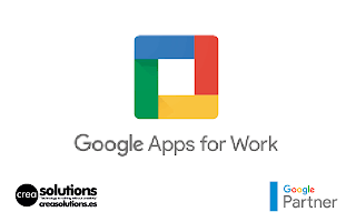 Implantación de Google Apps for Work Servicios de Crea Solutions Canarias