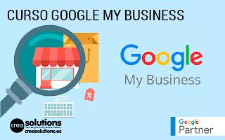 Cursos de Google My Business Servicios de Crea Solutions Canarias
