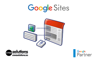 Implantación de Google Sites for Work Servicios de Crea Solutions Canarias