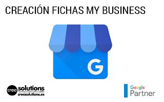 Creación y optimización de fichas de Google y Google Maps Servicios de Crea Solutions Canarias