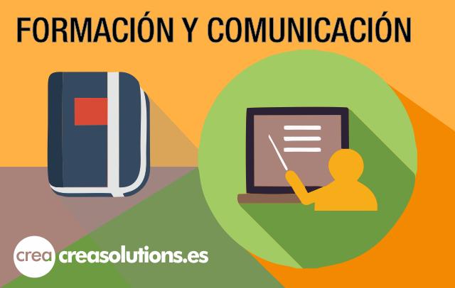 Servicios de Formación y Comunicación de Crea Soltuions en Canarias, España
