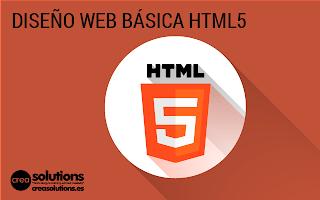 Diseño web HTML5 Servicios de Crea Solutions Canarias