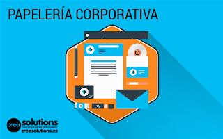 Ppelería Corporativa Servicios de Crea Solutions Canarias