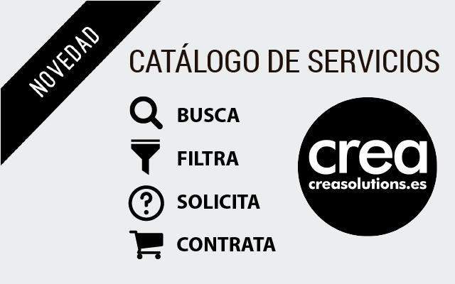 Catalogo Servicios y productos CREA Solutions